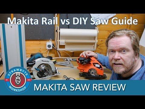 Makita Circular Saw Review | Guide Rail vs DIY Saw Guide | HS7601J/2