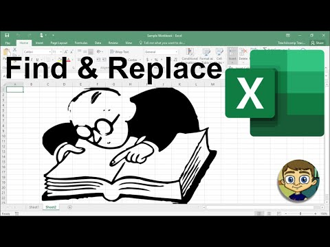 Excel Find and Replace Tutorial 2018