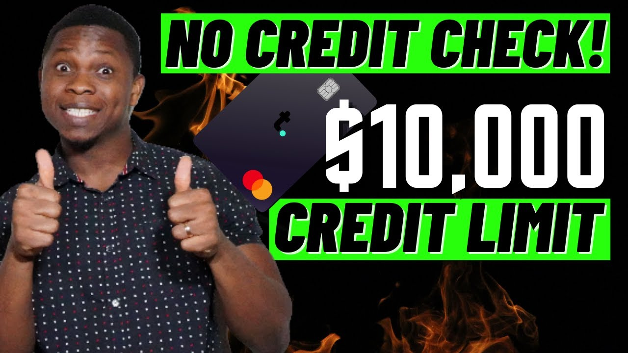 NEW Credit Card with NO CREDIT CHECK & $10,000 Credit Limit! Best Credit Cards for Beginners in 2020