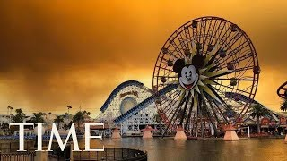 Disneyland Looks Terrifying As Wildfires Tear Through California: See The Shocking Footage | TIME