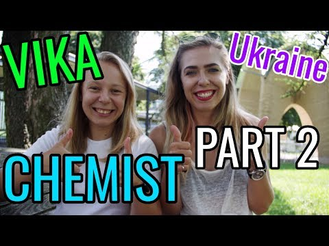 EXTRAS // Vika the CHEMIST from Ukraine