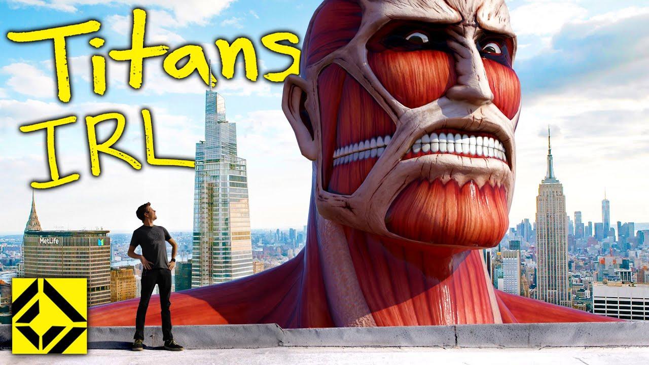 VFX Artist Reveals TRUE Scale of Attack on Titan!