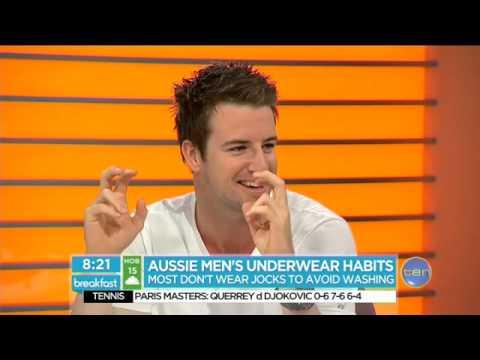 The brief on Aussie men's underwear habits