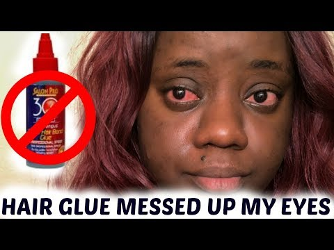 STOP USING HAIR GLUE FOR LASH GLUE!!!!!!/I HAVE A BETTER ALTERNATIVE