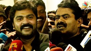 STR and Seeman Speech: Simbu on Silent Protest Outcome | Jallikattu Ban and Issues