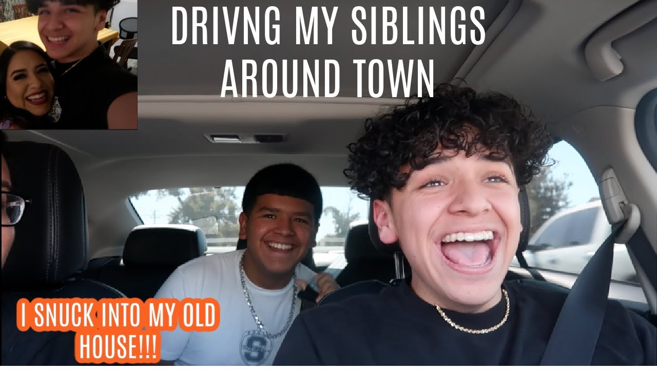 I SURPRISED MY FAMILY 3 HOURS AWAY! Sneaking into MY OLD HOUSE |Vlog