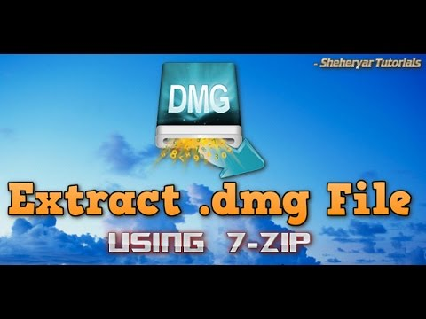 How to Extract .dmg file for free in Windows XP/Vista/7/8/9/10