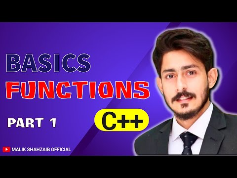 #13 Introduction to functions in c++  |  how to declare a function | function declaration definition