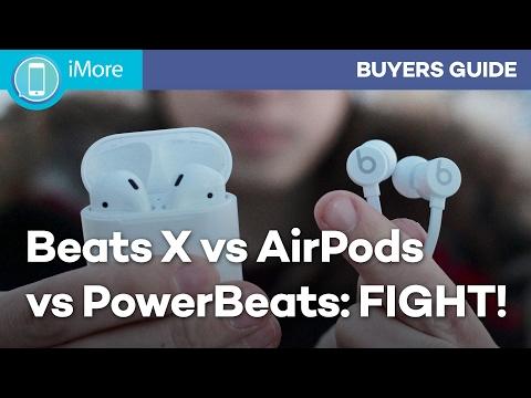 Beats X vs AirPods vs PowerBeats: Which W1 Headphone Should You Get?