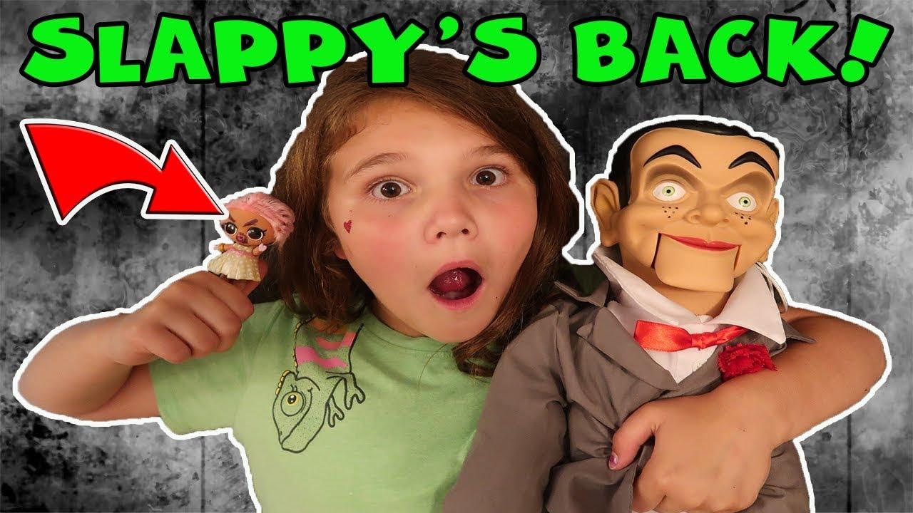 Slappy's Back! We Mailed Slappy To David's TV   Is Slappy The Doll Maker?