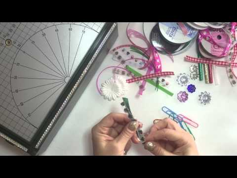 DIY PLANNER CLIPS: With Ribbon and Gems