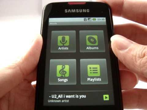 Samsung GALAXY SPICA Wi-fi, Conserve Battery, Change Ringtone, Bluetooth Headset pairing