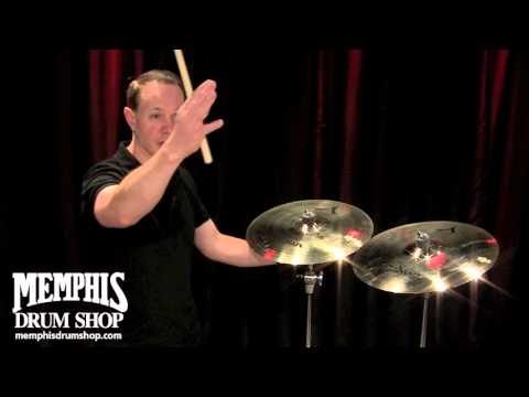 Zildjian Thin vs Thick Cymbal Comparison with Paul Francis