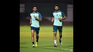 تدريبات الفريق الاول لكرة القدم بالنادي الاهلي _ الجمعة25 يناير