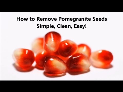 How to Remove Seeds from a Pomegranate (Arils) the Easy Way!