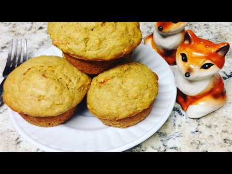 Easy Vegan Carrot Cake Muffins Recipe