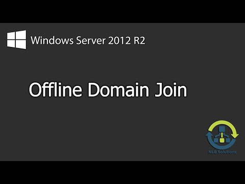 How to perform Offline Domain Join (Step by Step guide)