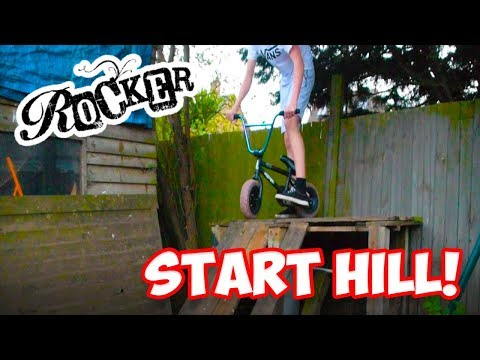 BUILDING A ROCKER BMX START HILL!