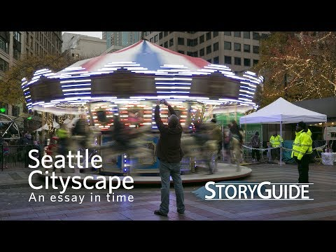 Seattle Cityscape: A Brief Essay in Time