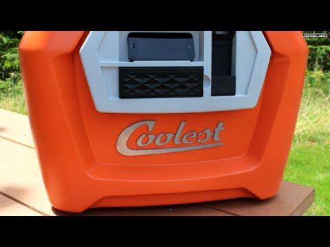 'Coolest' cooler includes blender, speaker!