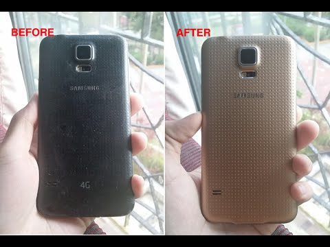 How To Refurbish Your Old Samsung Galaxy S5 In 5 steps & in 5 Mins!