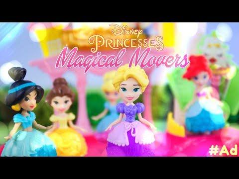 Unbox Daily: Hasbro Disney Princess Magical Movers | Jasmine | Belle | Rapunzel & More