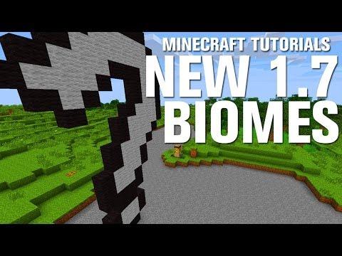 Minecraft Tutorials: New Biomes in 1.7