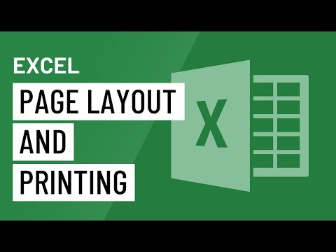 Excel 2016: Page Layout and Printing