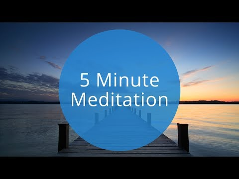 5 Minute Guided Meditation | Quick 5 Minute Meditation to Relax and Recharge by OMG. I Can Meditate!