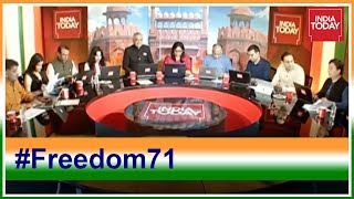 India Today Analyses PM Modi's Past Independence Day Speeches #Freedom71