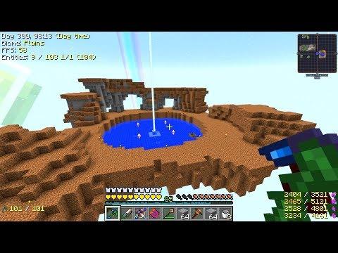 Minecraft - Project Ozone 2 #63: EMC Island
