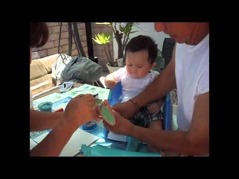 Baby Crafts: Flour Footprints