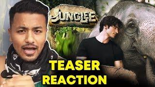 Junglee TEASER | REVIEW | REACTION | Vidyut Jamwal, Chuck Russell