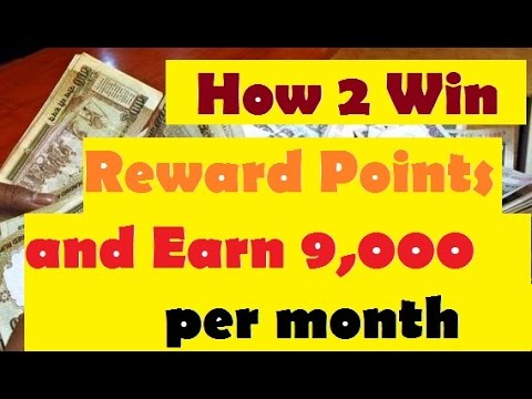 How to win reward points and earn 9,000 Per month Extra hindi mein janiye