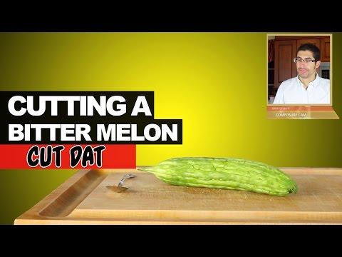 Cutting a Bitter Melon