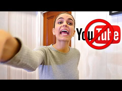 Deleting my YouTube Channel PRANK! MY REVENGE BACKFIRED!