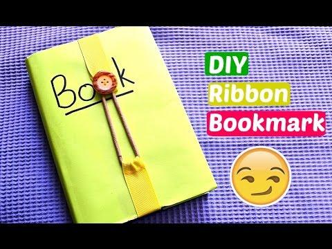 DIY Ribbon Bookmark   P.G.P Crafts