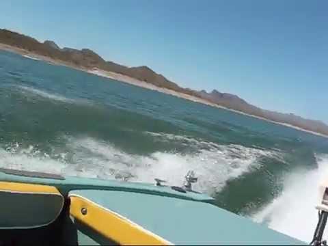 Jet Ski powered boat build