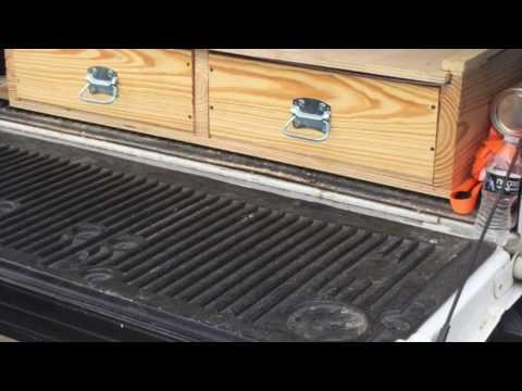 How To Build Truck Bed Storage System
