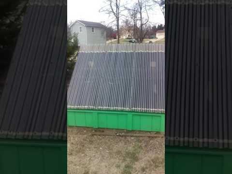 Solar Lumber Kiln