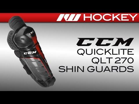 CCM QuickLite QLT 270 Hockey Shin Guards Review