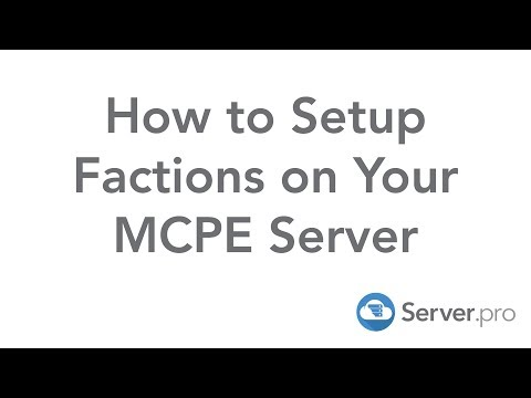 How to Setup Factions on Your MCPE Server - Server.pro