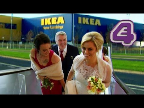Couple SERIOUSLY Get Married In IKEA?! | Don't Tell the Bride Ireland