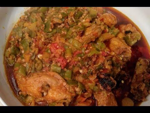 Cooking Stewed Okra