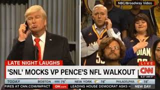 SNL Saturday Night Live Mocks VP Pence