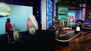 Ellen and Lucky Fans Play