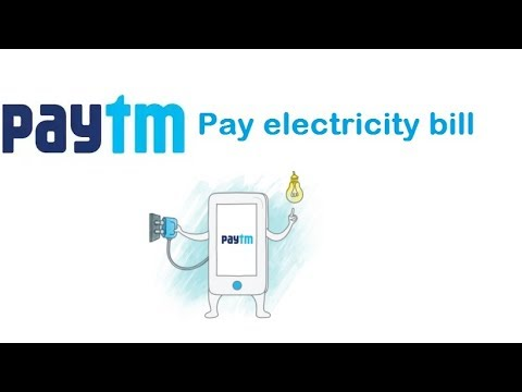 pay electricity bill using paytm