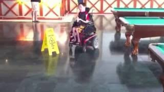 Wheelchair Tokyo Drift