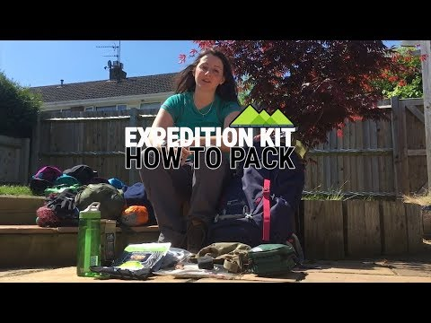 Expedition Kit List - How To Pack for DofE/Exped/Multi-Day