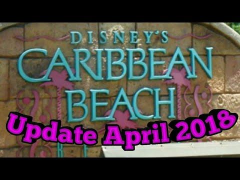 Caribbean Beach Resort update April 2018 Overview